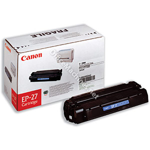 Canon EP-27 Laser Toner Cartridge Page Life 2500pp Black