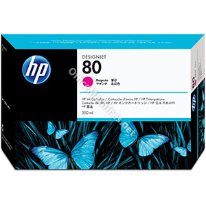 Hewlett Packard No. 80 Inkjet Cartridge 350ml Magenta