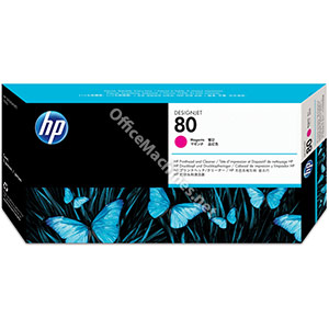 Hewlett Packard No. 80 Inkjet Printhead and Cleaner Magenta