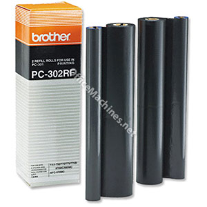 Brother Fax Ribbon Thermal Page Life 470pp Black