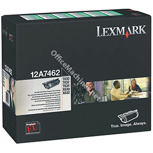 Lexmark Laser Toner Cartridge Return Program Page Life 21000pp Black