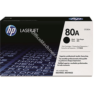 Hewlett Packard No. 80A Laser Toner Cartridge Page Life 2700pp Black