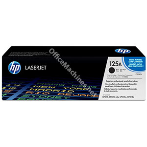 Hewlett Packard No. 125A Laser Toner Cartridge Page Life 2200pp Black
