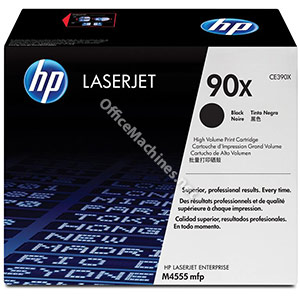 Hewlett Packard No. 90X Laser Toner Cartridge Page Life 24000pp Black