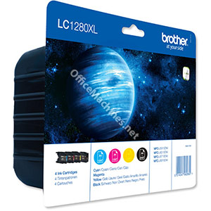 Brother Inkjet Cartridge Value Pack Page Life 3500pp Black, Cyan, Magenta and Yellow