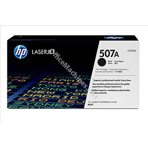 Hewlett Packard No. 507A Laser Toner Cartridge Page Life 5500pp Black