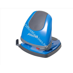 Rexel Easy Touch Low Force 2 Hole Punch Capacity 30x 80gsm Blue