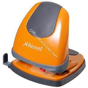 Rexel Easy Touch Low Force 2 Hole Punch Capacity 30x 80gsm Orange