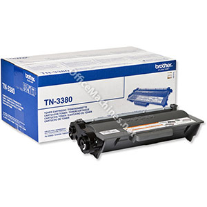 Brother Laser Toner Cartridge High Yield Page Life 8000pp Black
