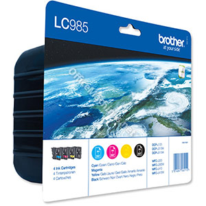 Brother Inkjet Cartridge Value Pack Page Life 1080pp Black, Cyan, Magenta and Yellow