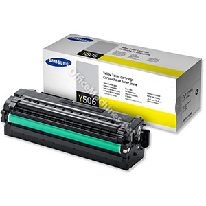 Samsung Laser Toner Cartridge High Yield Page Life 3500pp Yellow