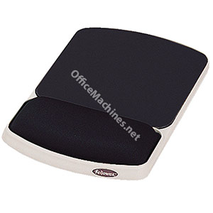 Fellowes Premium Gel Mousepad Wrist Support Graphite