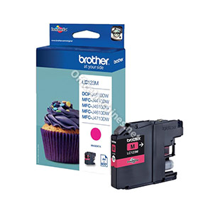 Brother Inkjet Cartridge Page Life 600pp Magenta