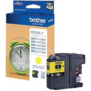 Brother Inkjet Cartridge Page Life 1200pp Yellow