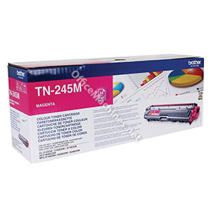 Brother Laser Toner Cartridge Page Life 2200pp Magenta
