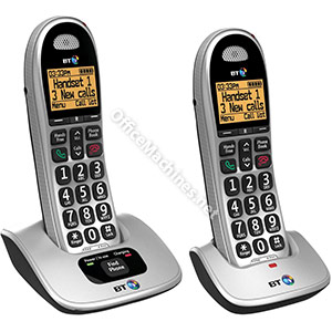 BT 4000 Twin Big Button DECT Telephone