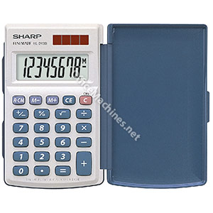 Sharp EL243S Calculator Desktop