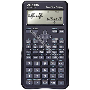 Aurora AX-595TV Scientific Calculator Black
