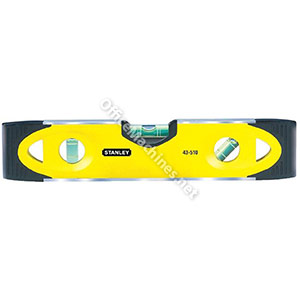 Stanley 230mm Shock Proof Torpedo Level Magnetic Base