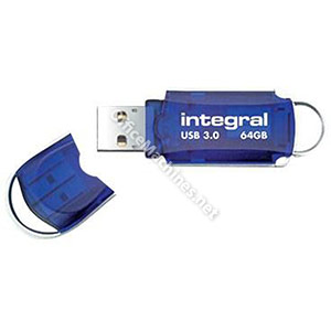 Integral Courier Flash Drive USB 3.0 64GB