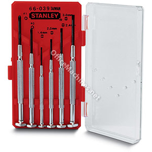 Stanley Instrument Screwdriver Set