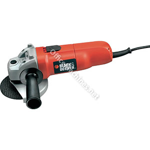 Black & Decker Angle Grinder Complete With  5 x 115mm Discs 710W