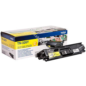 Brother Laser Toner Cartridge High Yield Page Life 3500pp Yellow