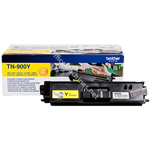 Brother Laser Toner Cartridge Super High Yield Page Life 6000pp Yellow