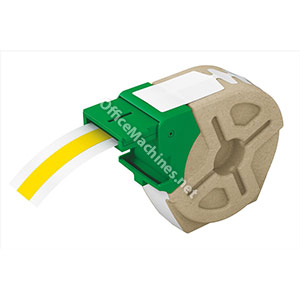 Leitz Icon Label Cartridge Permanent Plastic 12mmx10m Yellow