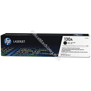 Hewlett Packard 130A Laser Toner Cartridge Page Life 1300 Black