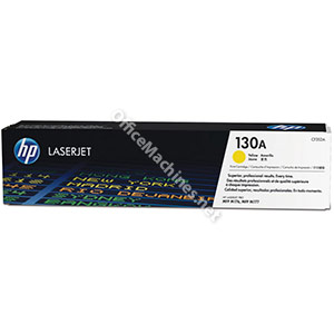 Hewlett Packard 130A Laser Toner Cartridge Page Life 1000 Yellow