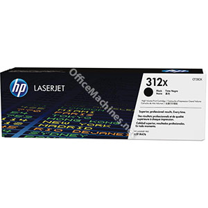 Hewlett Packard 312X Laser Toner Cartridge High Yield Page Life 4400 Black