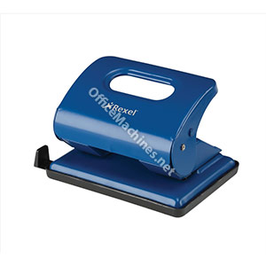 Rexel V220 Value Punch 2-Hole Metal Capacity 20x 80gsm Blue