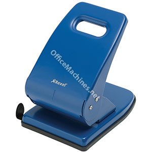 Rexel V240 Value Punch 2-Hole Metal Capacity 40x 80gsm Blue