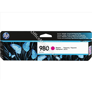 Hewlett Packard No. 980 Inkjet Cartridge Page Life 6600pp Cartridge Magenta