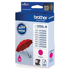 Brother Inkjet Cartridge High Yield 11.8ml Page Life 1200pp Magenta