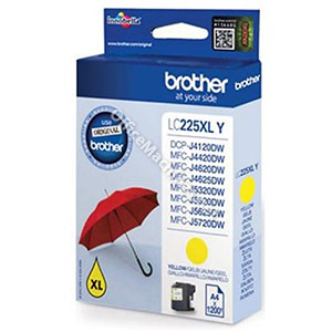 Brother Inkjet Cartridge High Yield 11.8ml Page Life 1200pp Yellow