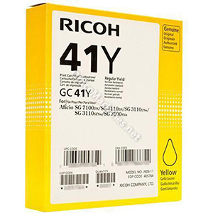 Ricoh Laser Inkjet Cartridge Page Life 2200pp Yellow