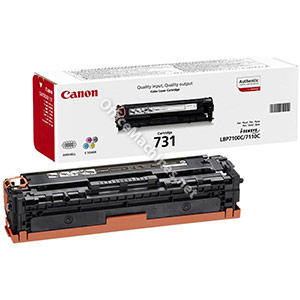 Canon Laser Toner Cartridge Page Life 1500pp Yellow