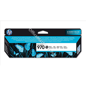 Hewlett Packard HP 970 Officejet Inkjet Cartridge Page Life 3000pp Black