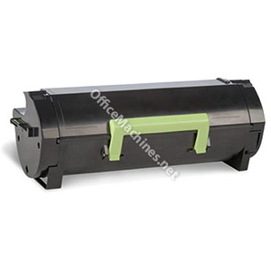 Lexmark 502 Laser Toner Cartridge Return Program Page Life 1500pp Black