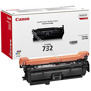 Canon Laser Toner Cartridge 732Y Page Life 6400pp Yellow