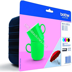 Brother Inkjet Cartridge High Yield Page Life 1200pp Black, Cyan, Magenta and Yellow