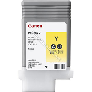 Canon PF1-102Y Ink Tank Yellow