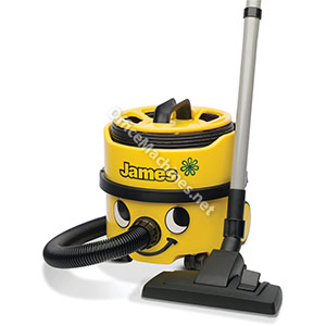 Numatic James Vacuum Cleaner 620W 8 Litre 5.2Kg Yellow