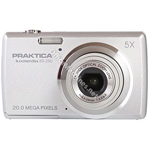 Praktica 20-Z50 Digital Camera Kit Silver