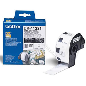 Brother DK11221 Square Labels