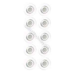 Nobo 1903854 Rare Earth Magnets Pack of 10