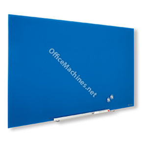 Nobo 1905188 Blue Diamond Glass Whiteboard 993 x 559mm