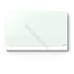 Nobo 1905191 Diamond Glass Magnetic Whiteboard with Rounded Corners 993 x 559mm